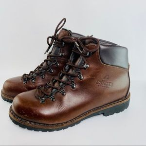 Alico Summit Size 10 M Brown Italian Leather Boots